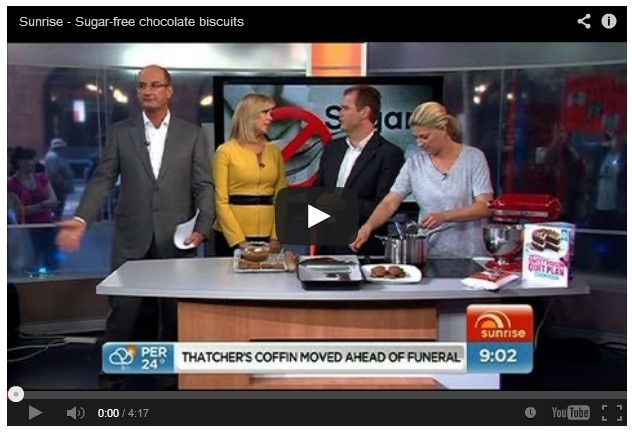 Sunrise : Sugar-free chocolate biscuits