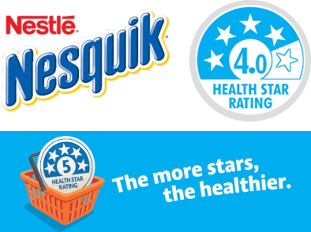 Chocolate Nesquik Earns 4 Health Star rating